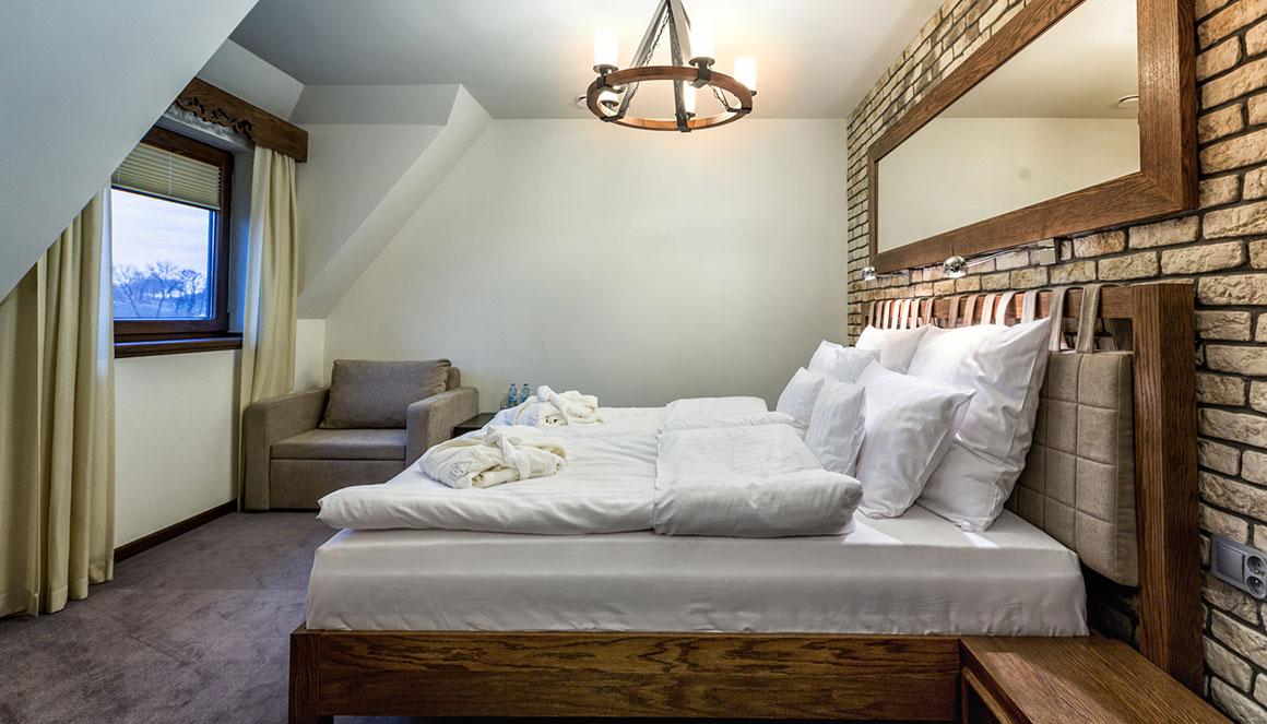 Pokoje typu TWIN/DOUBLE
